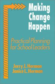 Cover of: Making Change Happen