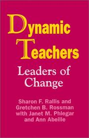 Cover of: Dynamic Teachers