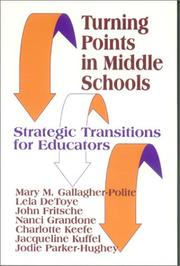 Cover of: Turning Points in Middle Schools