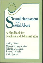 Cover of: Sexual Harassment and Sexual Abuse
