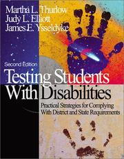 Cover of: Testing Students With Disabilities