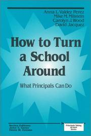 Cover of: How to Turn a School Around