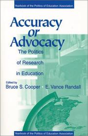 Cover of: Accuracy or Advocacy?