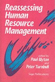 Cover of: Reassessing Human Resource Management