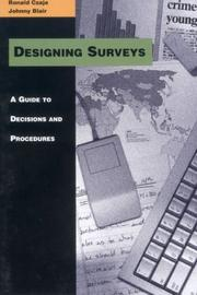 Cover of: Designing Surveys
