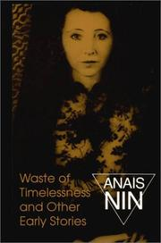 Cover of: Waste of timelessness, and other early stories