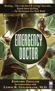 Cover of: Emergency Doctor