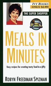 Cover of: Meals in Minutes (Super Shopper Series)
