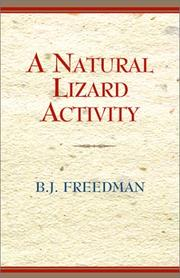 Cover of: A Natural Lizard Activity