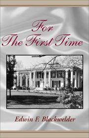 Cover of: For the First Time