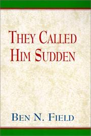 Cover of: They Called Him Sudden