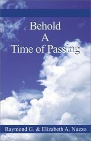 Cover of: Behold a Time of Passing