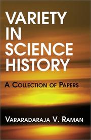 Cover of: Variety In Science History