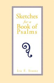 Cover of: Sketches for a Book of Psalms