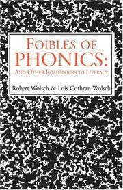 Cover of: Foibles of Phonics