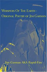 Cover of: Whispers Of The Earth - Original Poetry of Jim Garman