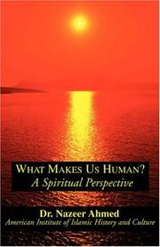 Cover of: What Makes Us Human?