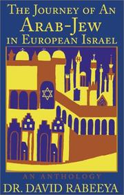 Cover of: The Journey of An Arab-Jew in European Israel