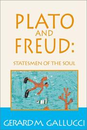 Cover of: Plato and Freud
