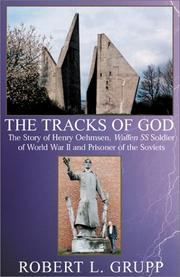 Cover of: THE TRACKS OF GOD