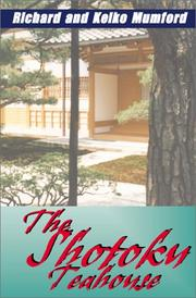 Cover of: The Shotoku Teahouse
