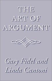 Cover of: The Art of Argument