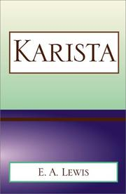 Cover of: Karista