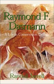 Cover of: Raymond F. Dasmann