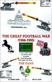 Cover of: The Great Football War 1984-1995