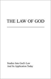 Cover of: The Law of God