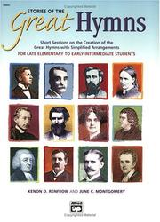 Cover of: Stories of the Great Hymns