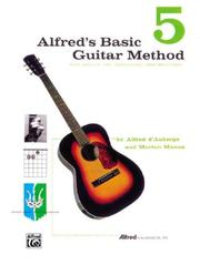 Cover of: Alfred's Basic Guitar Methods Book, Vol. 5