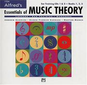 Cover of: Essentials of Music Theory