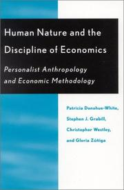 Cover of: Human Nature and the Discipline of Economics