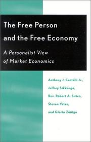Cover of: The Free Person and the Free Economy