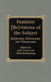 Cover of: Feminist (Re)visions of the Subject