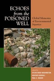 Cover of: Echoes from the Poisoned Well