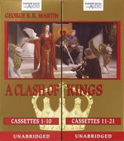 Cover of: A Clash of Kings (Martin, George R. R. Song of Ice and Fire, Bk. 2.)