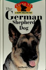 Cover of: The German shepherd dog