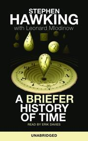 Cover of: A Briefer History of Time
