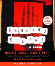 Cover of: Remains Silent