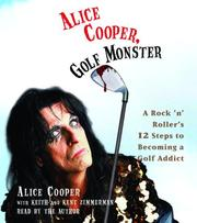 Cover of: Alice Cooper, Golf Monster