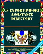Cover of: US Export-Import Assistance Directory