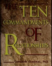 Cover of: The Ten Commandments Of Relationships