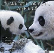 Cover of: Thank You for Being a Friend ! (Love Notes)