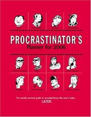 Cover of: Procrastinator's Planner 2006