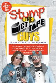 Cover of: Stump the Duct Tape Guys