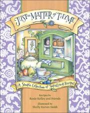Cover of: Just a Matter of Thyme