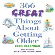 Cover of: 366 Great Things About Getting Older