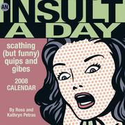 Cover of: An Insult-a-Day